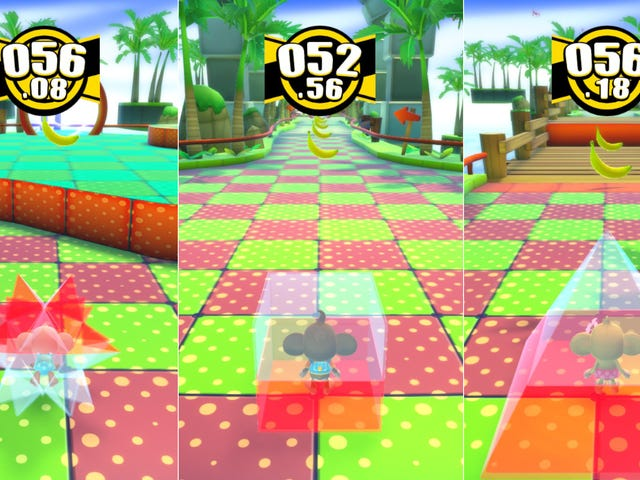 Code Turns Super Monkey Ball PC Into Super Monkey Cube