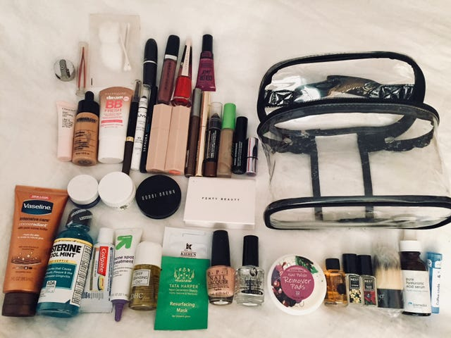 Traveling Light, Part 2: Yes, You Can Fit a Full Face Into Minimal Space