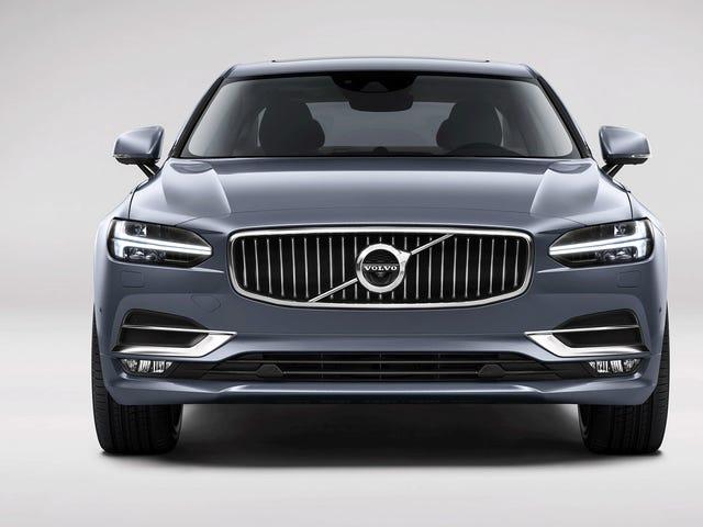 2017 Volvo S90: questa è la berlina-lusso di lusso ibrida 407 HP di Volvo