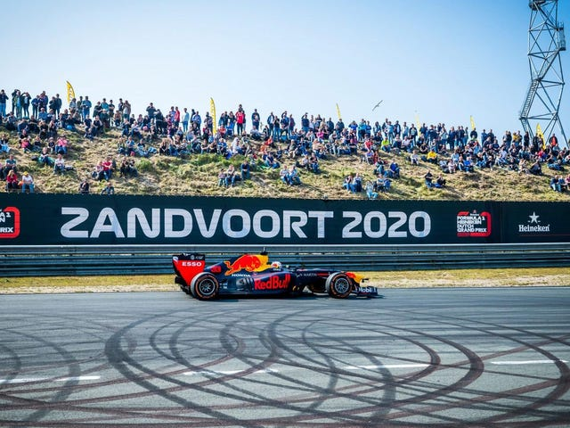 Formula One's Dutch Grand Prix Under Fire For Environmental Reasons