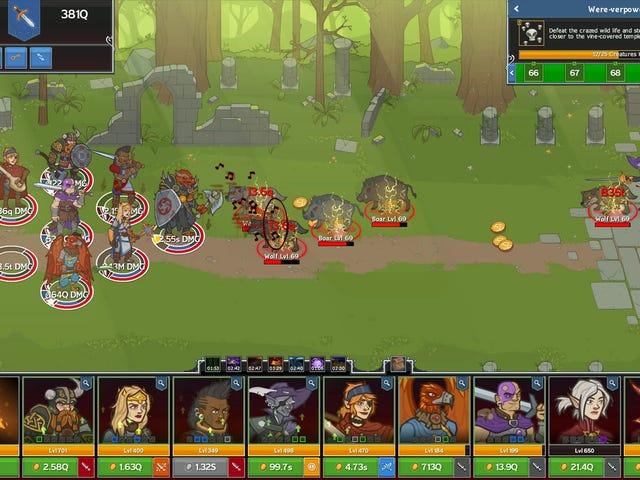 Idle Champions Of The Forgotten Realms é um ótimo jogo para não jogar quando seu poder foi atingido por um furacão