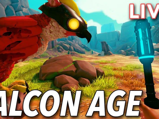 Tôi đang kiểm tra Falcon Age cho PlayStation VR trực tiếp trên kênh Twitch với Tim