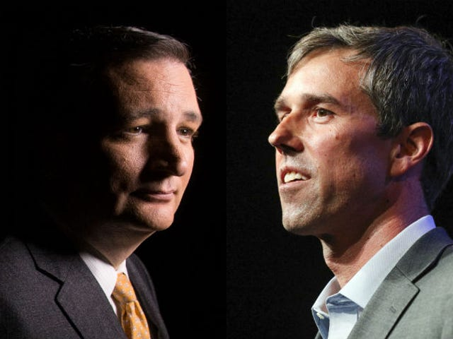 O'Shit, Beto Is Within 1 Point of Ted Cruz Now