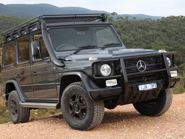 The Outgoing Mercedes G-Class Is Still In Production Because Icons Never Die