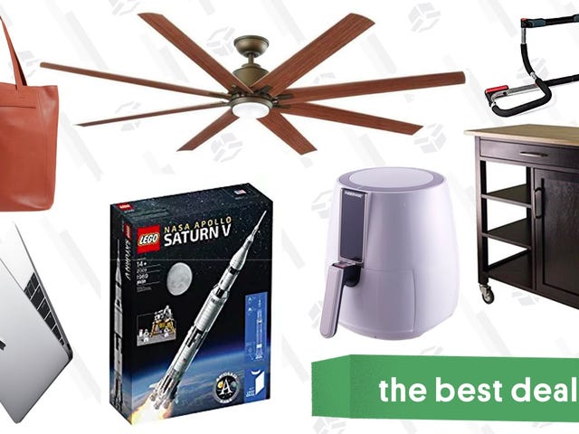 Sunday's Best Deals: Air Fryer, Cat Scratch Lounger, Brother Label Maker, and More