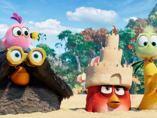 The Angry Birds Movie 2 is hardly art, but at least it's better than its predecessor
