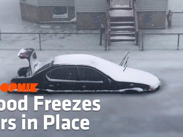 Ô tô đang đông lạnh