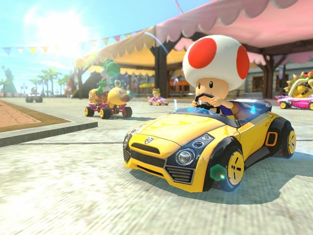 Once You're Done Retching, Mario Kart 8 Deluxe Is $15 Off