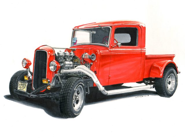 New Rendering: '35 IH Street Rod!