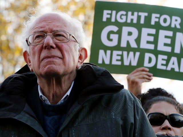 Le mouvement Sunrise approuve Bernie Sanders au poste de président