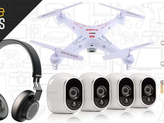 Bugünün En İyi Fırsatları: Jabra MOVE, Arlo Güvenlik Sistemi, 39 $ Drone ve Daha Fazlası