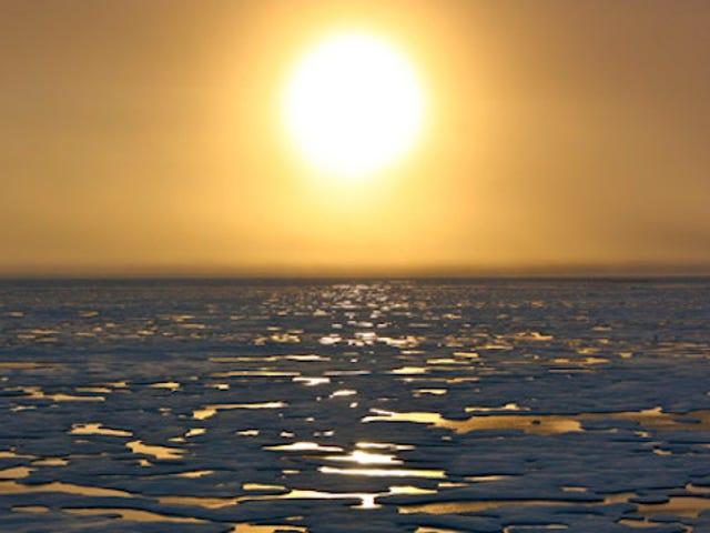 Les températures au pôle Nord pourraient s'élever de 50 degrés au-dessus de la normale aujourd'hui
