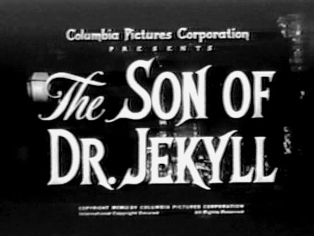 Svengoolie: le fils du docteur Jekyll (1951)