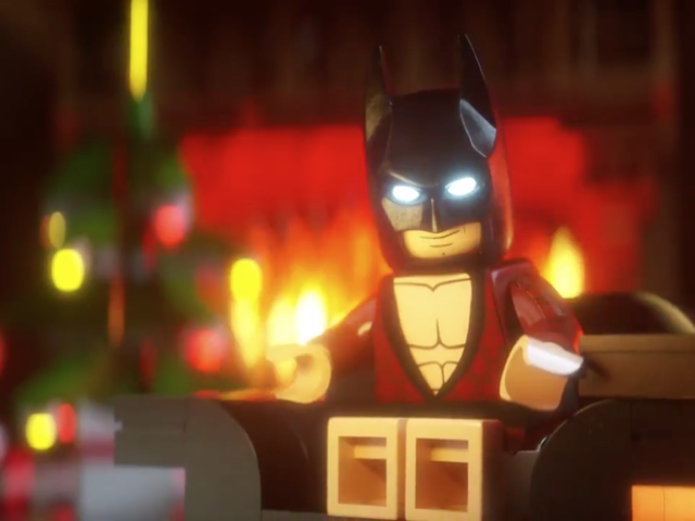 Vamos, LEGO Batman, léanos todo <i>The Night Before Christmas</i>