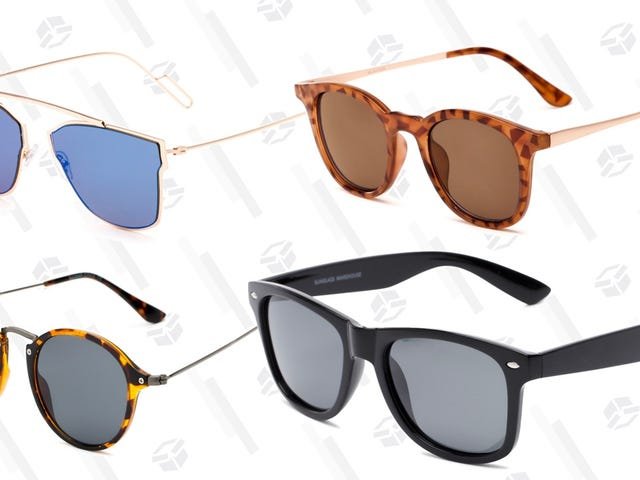 Grab Two Pairs of Shades For Under $30 From Sunglass Warehouse