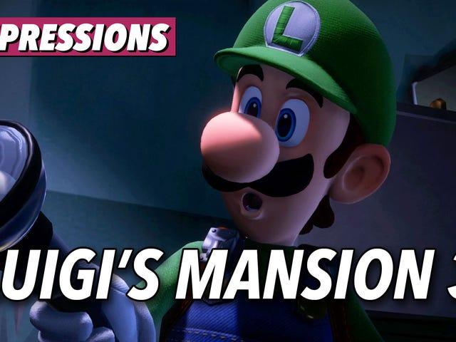 Το Mansion του Luigi 3 είναι το είδος του παιχνιδιού της Nintendo Ο διακόπτης μου έχασε