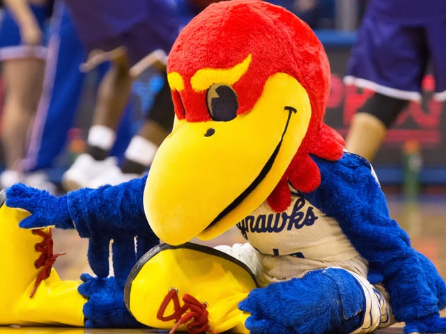 Will somebody please check on Baby Jay after that brawl between Kansas and K-State?