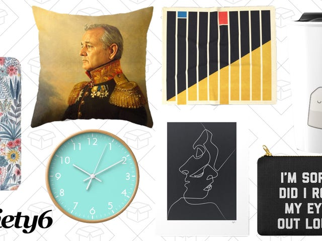 Pretend to Be an Adult With 20% Off Everything, Plus Free Shipping, at Society6