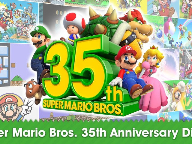 Nintendo Finally Announces 3D Mario Collection For The Switch, Out This Month