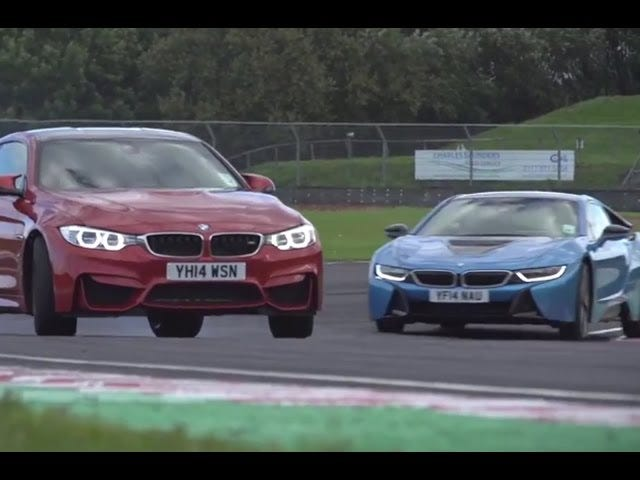 Video: It's i8 Against M4 In This High-Performance BMW Track Battle