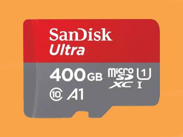 ¿Ya no te caben las fotos en el móvil? SanDisk ha creado una MicroSD de 400 GB de almacenamiento