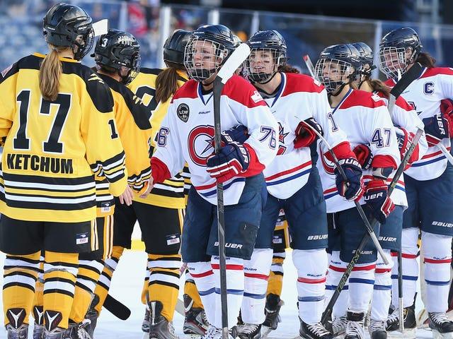 Vad är framtiden för kvinnohockey i Nordamerika?  (Uppdatering)