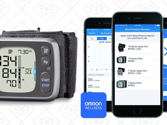 Keep Track of Your (Likely Elevated!) Blood Pressure For Under $50