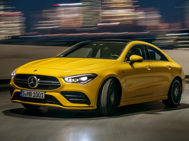 The 2020 Mercedes-AMG CLA35 Is a Damn Fine-Looking Car