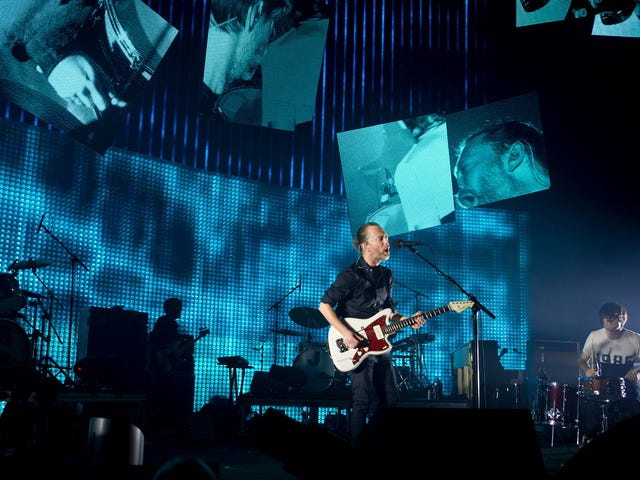 Radiohead Is Selling Its 'Hacked' Archives In the Name of Climate Change