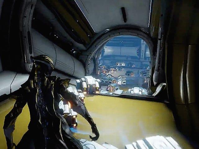Warframeプレイヤーは新しいスペースルンバが大好き