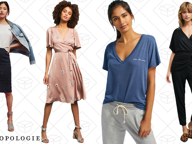 Grab Up to 35% Off All-Things-Apparel at Anthropologie