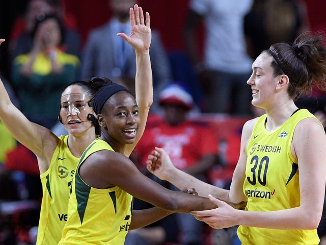 The Storm Snapped The Mystics In Half To Become WNBA Champs