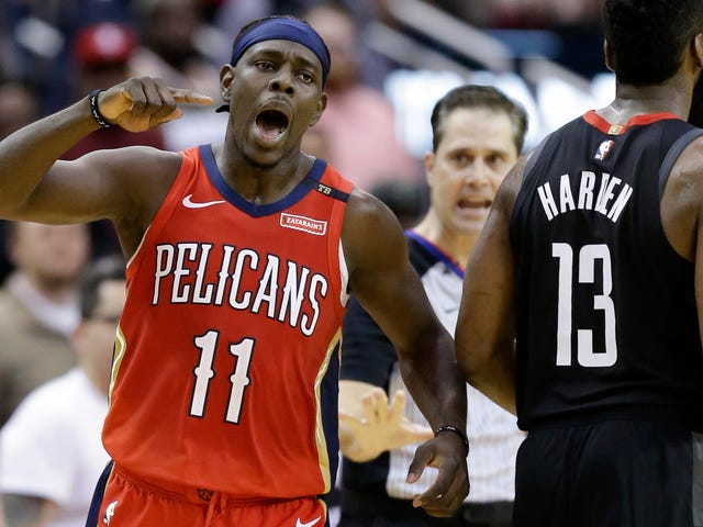 Jrue Holiday Put A Nice Marinade On James Harden, Slapped Him On The Grill, And Then Ate Him Up