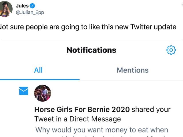 Twitter informe-t-il les utilisateurs lorsque leurs tweets sont partagés dans des DM?  Non quoi?  Bien sûr que non.