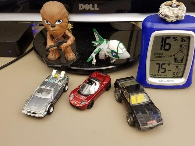 My Current Work Desk Tchotchkes