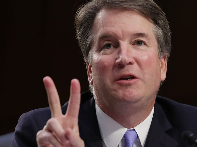 Brett Kavanaugh Hid in the White House For 9 Hours. Related: His Accuser Testifies Before Senate Monday