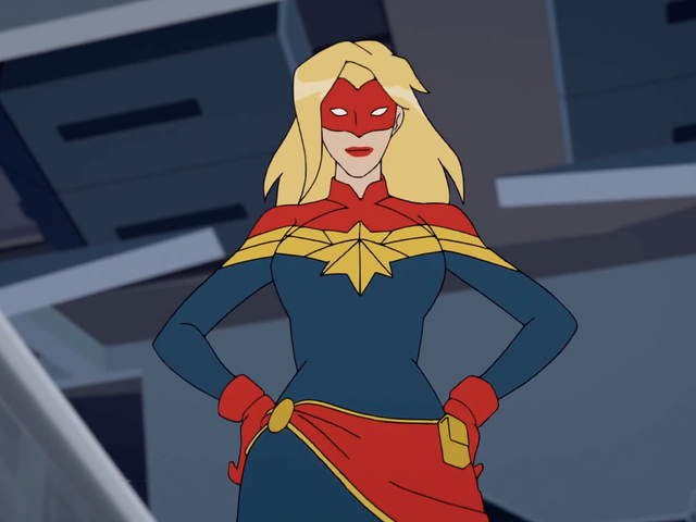Get to Know Captain Marvel in This Exclusive Marvel Rising: Secret Warriors Featurette