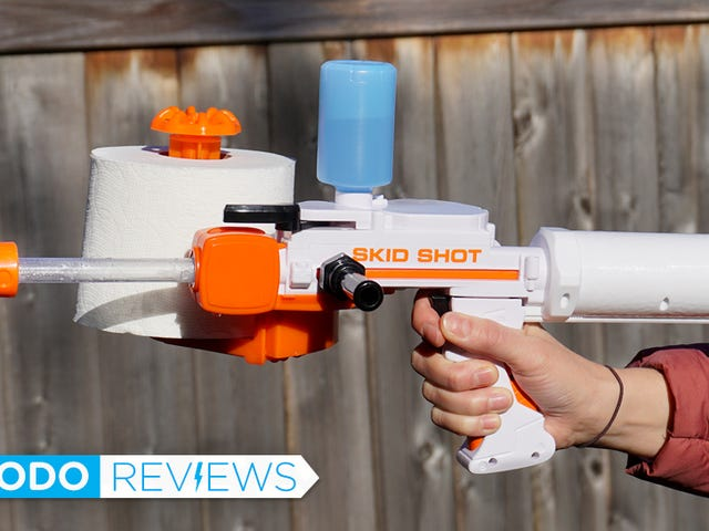 The Super Soaker For Spitballs Is the Perfect Toy For Grownups Who Refuse to Grow Up