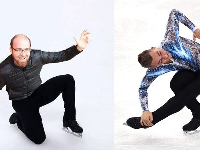 Game Developer Adam Rippon Is Having A Good Time Right Now