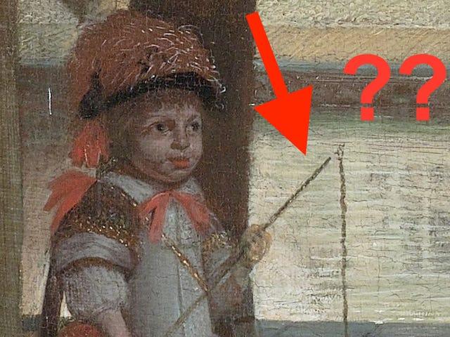 Ο Tim Cook είδε ένα iPhone σε μια ζωγραφική του 17ου αιώνα - Εδώ τι χάθηκε