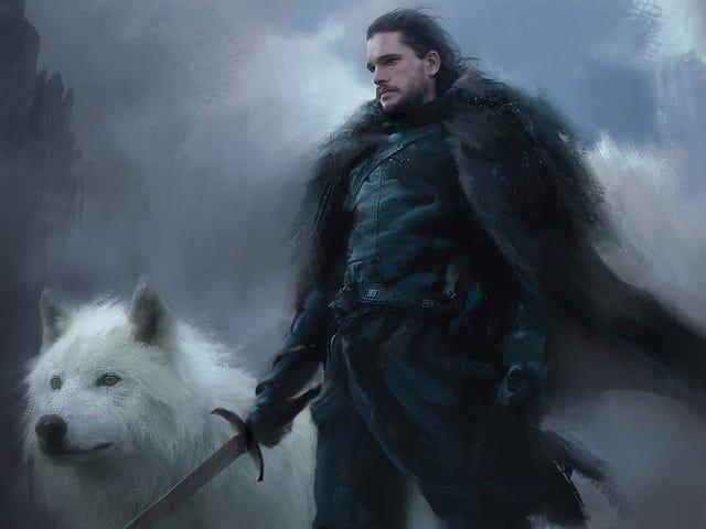 Le roi dans le nord est un garçon triste et magnifique