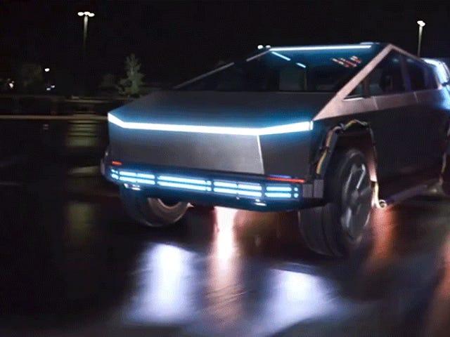 Alguien ha reemplazado el DeLorean de Regreso al Futuro por un Tesla Cybertruck y luce mejor de lo que imaginas