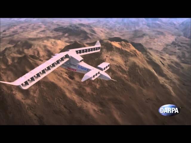DARPAn uusi pystysuuntainen lentoonlähtöilma-käsite näyttää täysin pahalta