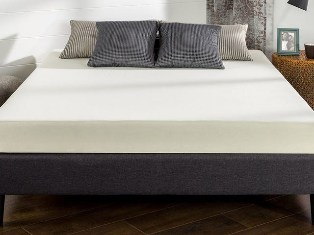Upgrade Your Guest Room With a $100 Queen Foam Mattress
