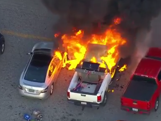 If This NASCAR Truck Fire Doesn't Become A Country Song, Music Has Failed Us