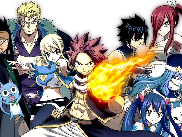 The anime of Fairy Tail will come back this Fall