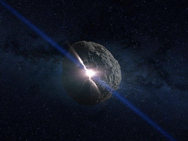 HAMMER: La Nave de la NASA utrustade med kärnor i kärnan och förstörde en asteroid än 2135