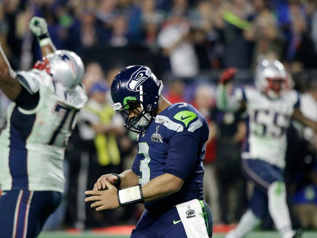 Russell Wilson's Super Bowl Interception Drove The Seahawks Mad