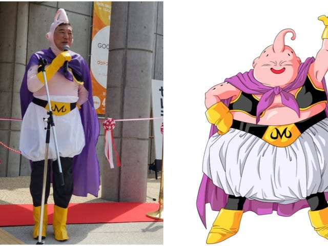 Politicians Should Always Cosplay As Dragon Ball Characters