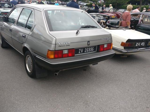 A Volvo now rarely seen
